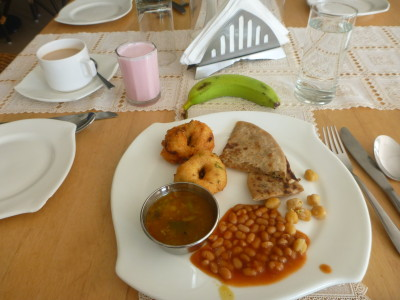Breakfast at Peerless Sarovar Portico