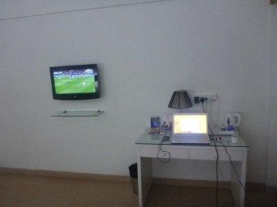 Blogging and watching UK football