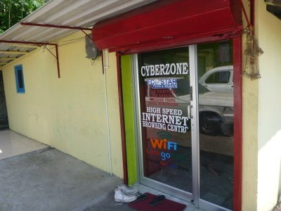 Cyberzone Internet Cafe - it works - if slow!