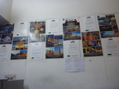 Lots of tours from Moustache Hostel