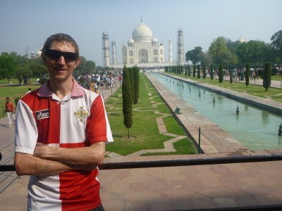 Touring the Taj Mahal in Agra, India
