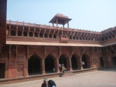 Inner courtyards