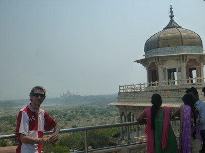 Viewpoint to the Taj Mahal