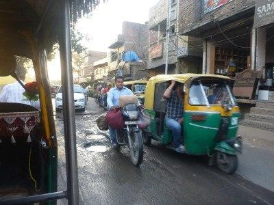 Tuk tuks/auto rickshaws of Agra, India
