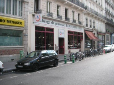 My hostel in Paris