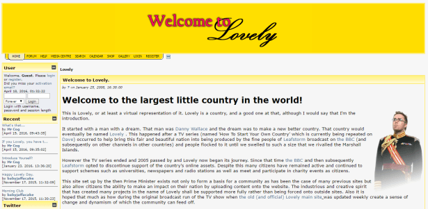Official Website of Lovely