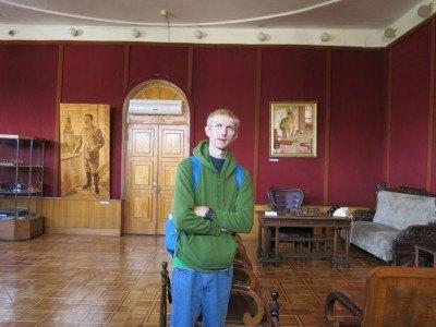 Inside Stalin's Museum, Gori.