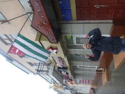 At the Abkhazian Embassy in Tiraspol