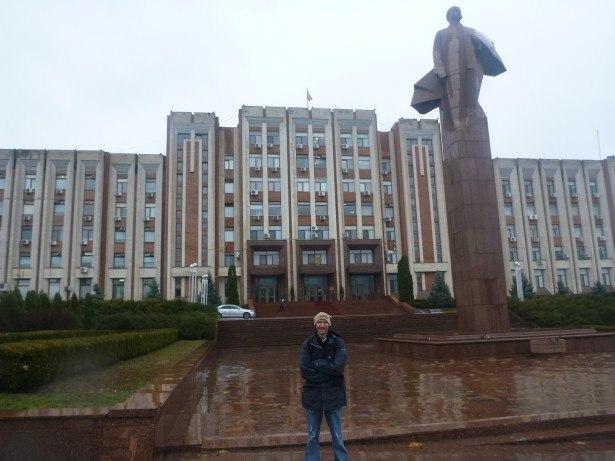 Backpacking in Tiraspol, Transnistria