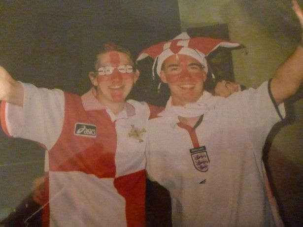 Northern Ireland and England - night on the sauce with Millwall Neil