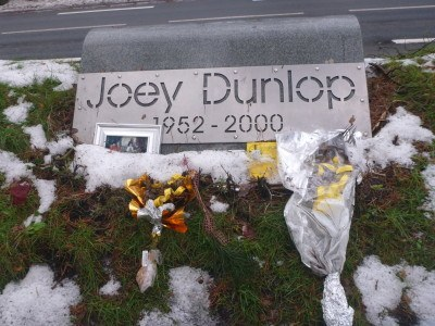 Joey Dunlop tribute, Tallinn, Estonia