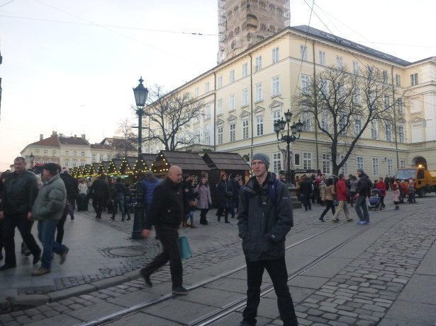 Backpacking in Lviv