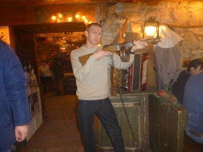 Gun themed pub - Kryjivka