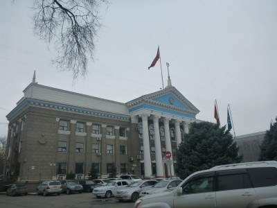 Backpacking in Bishkek