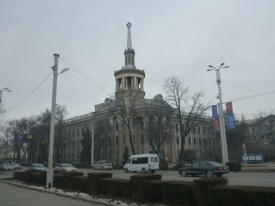 Backpacking in Bishkek