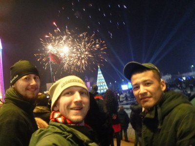 New Year's Eve in Bishkek