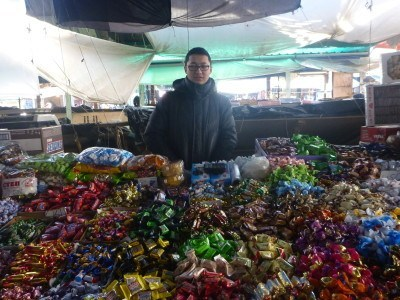 Osh Bazaar: backpacking in Bishkek, Kyrgyzstan