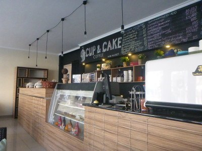 Cup and Cake Cafe, Bishkek, Kyrgyzstan