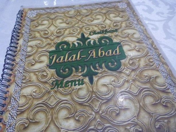 Jalalabad Restaurant in Bishkek, Kyrgyzstan