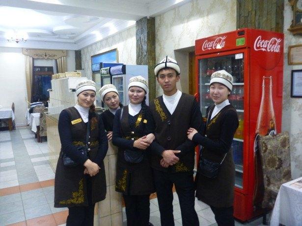 The staff at Jalalabad