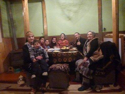 My homestay in Khorog, Gorno Badakhshan.