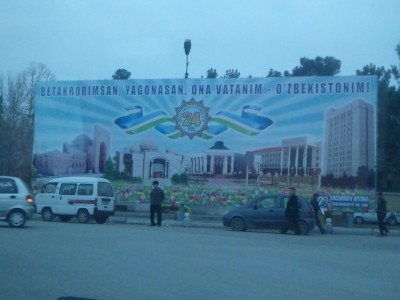 Backpacking in Termiz, Uzbekistan (but almost Afghanistan)