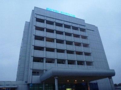 Staying at the Hotel Sorxan Atlantic in Termiz.