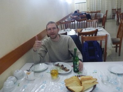 Dining and beering out in Termiz, Uzbekistan