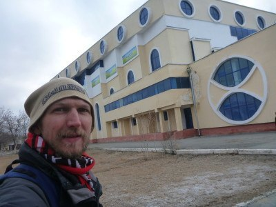 Downtown Nukus, touring the Republic of Karakalpakstan