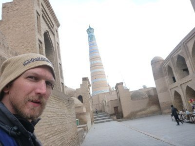 All alone in lonely, desolate Khiva