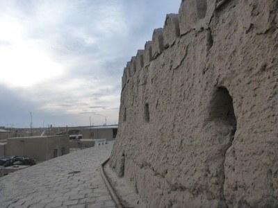 Walls of Khiva Ichon Qala
