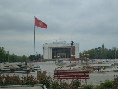 Ala Too Square - Magnetic Bishkek, Magnetic Kyrgyzstan