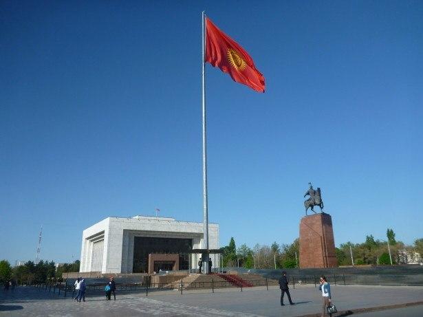 Sentimental Saturday Sun in Bishkek, Kyrgyzstan