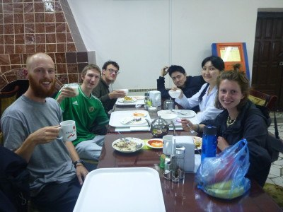 Last meal in Bishkek