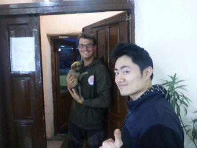 Lukas and Ricky - dorm buddies