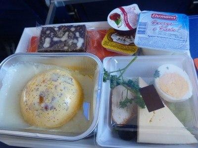 Aeroflot food