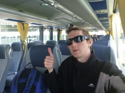 Airport bus in Munich
