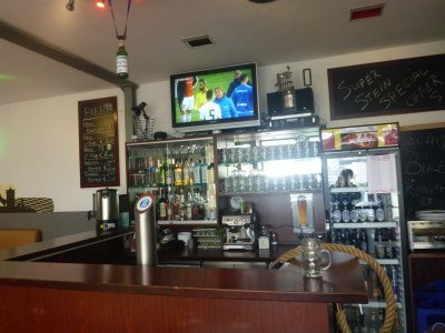 Bar at 4You Hostel, Munich