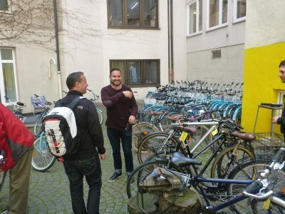 Doing a Bike Tour of Munich with Mike's Bike Tours