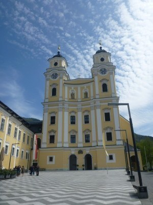 The Church at Mondsee