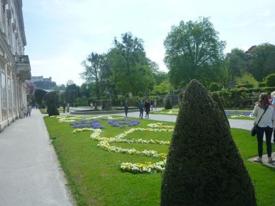 The Do Ray Me steps are in Mirabell Gardens