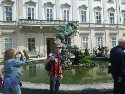 Pegasus Horse Fountain