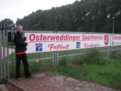 Baxckpacking in Osterweddingen, Germany