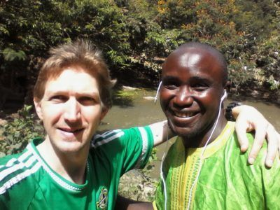 Zakariah and I
