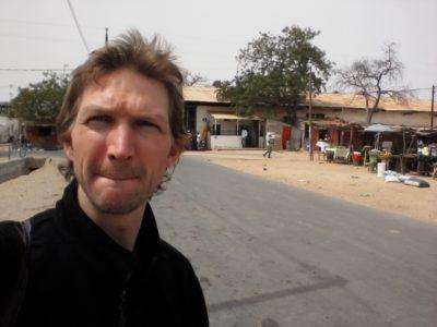 On the Senegal to Gambia border trip