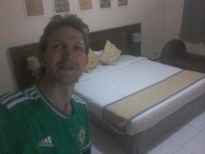 Staying at Hotel Baraka in Dowtown Dakar, Senegal