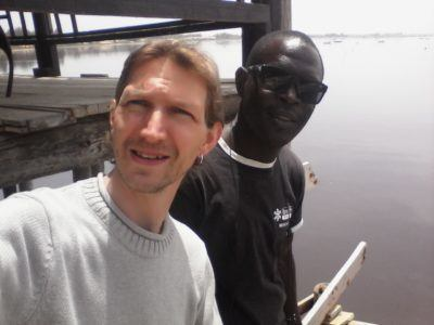 Pele my guide and I