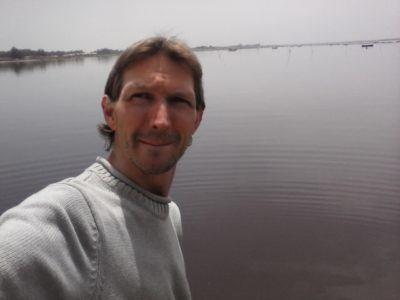 Touring Lac Rose, Senegal