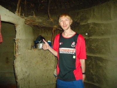 Touring a Maasai village in Tanzania, 2013
