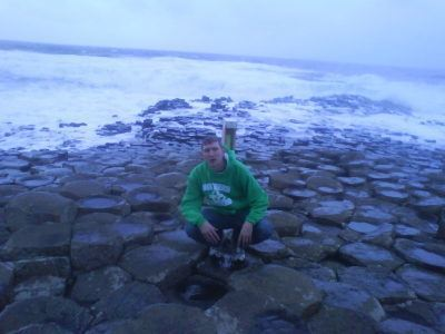 Backpacking in Northern Ireland: Giant's Causeway